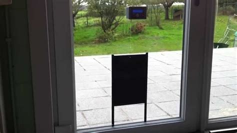 porte automatique solaire de poulailler mode automatique