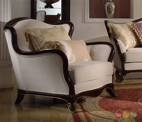 upholstered loveseat provencial cabriole style chenille upholstered sofa
