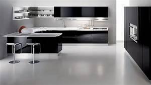 black and white kitchen decobizzcom With kitchen design in black and white