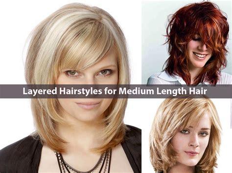 latest everlasting layered hairstyles  medium length