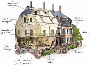 maison de maitre illustration histoire de l39art de l With plan maison de maitre