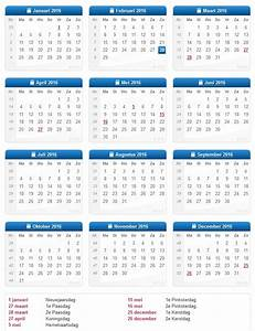 Kalender 2018 Excel Belgie newcalendar