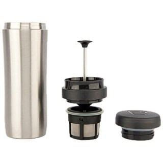 It makes coffee fast, with less than two minutes to brew a cup, which is perfect for when you're on the go. Espro Coffee Travel Press Coffee Maker - Best Quality Coffee