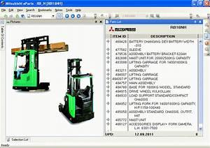 Mitsubishi Forklift Linkone Parts Catalog