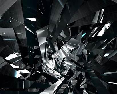 Glass Shattered Broken Background 3d Desktop