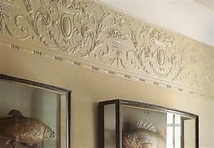 lincrusta tapete und stil borten in berlin und online kaufen With balkon teppich mit klassische tapeten