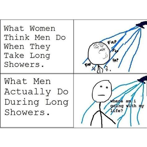 Shower Memes - men in long showers funny pictures quotes memes jokes
