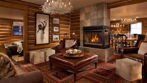 safari living room decor  lodge spa  brush creek