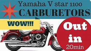 Yamaha V Star 1100 Carburetor Diagram