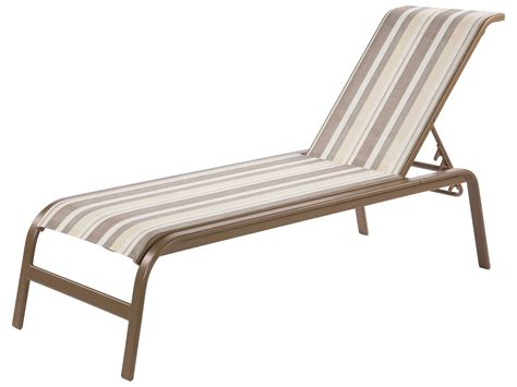 chaises aluminium windward design sling aluminum chaise