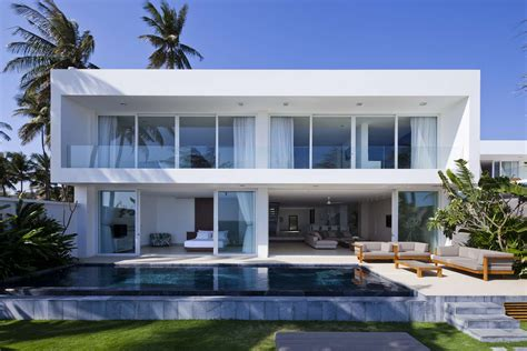 Private Beach Villas Offer Spectacular Ocean Views And