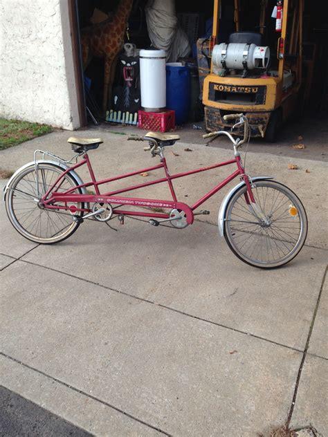Vintage Columbia Twosome Two Seater Bike « Obnoxious Antiques
