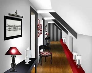 decoration entree couloir maison With photo deco terrasse exterieur 8 deco peinture couloir entree