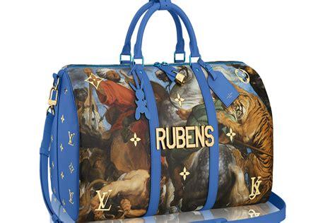 louis vuitton collaborates  artist jeff koons  bag collection