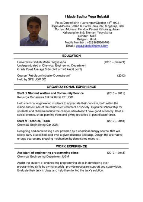 resume exles impactful instructor