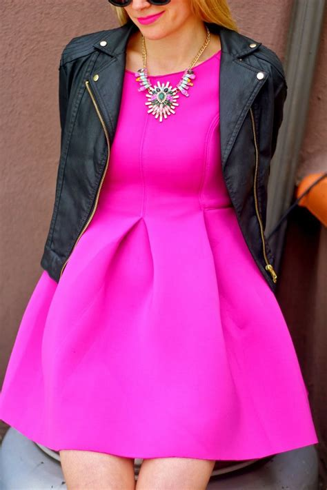 bright color dresses 25 best ideas about neon pink dresses on
