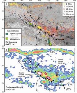 Seismicity And Major Structure Of Northwest Papua New