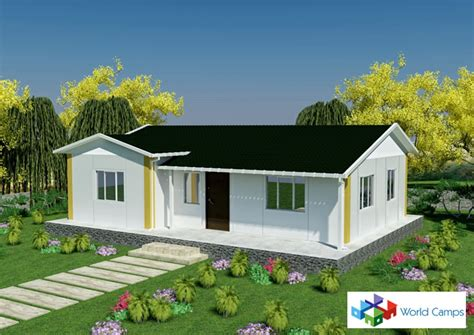 assembled prefabricated houses cheap prefab houses for africa libya iraq cameroon
