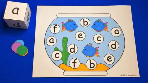 fishbowl roll and cover preschool learning activity 780 | maxresdefault