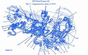 Ford Taurus Gl 1993 Electrical Circuit Wiring Diagram