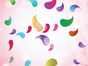 Fun Colorful Backgrounds with Shapes