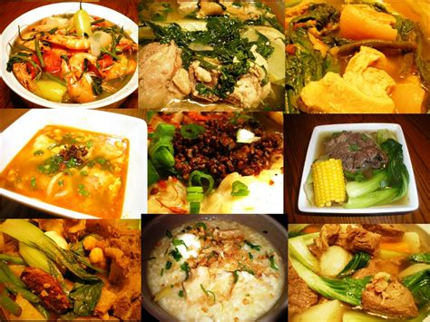 different types of cuisine foods