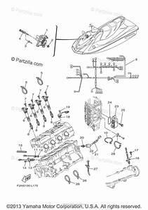 Yamaha Waverunner 2012 Oem Parts Diagram For Electrical