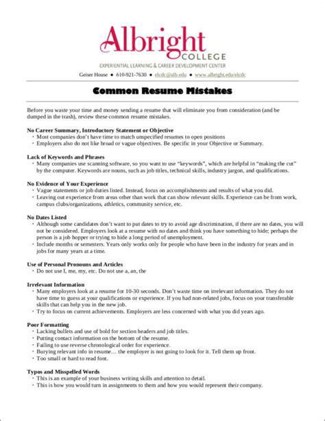 18999 common resume mistakes 10 common resume mistakes most make