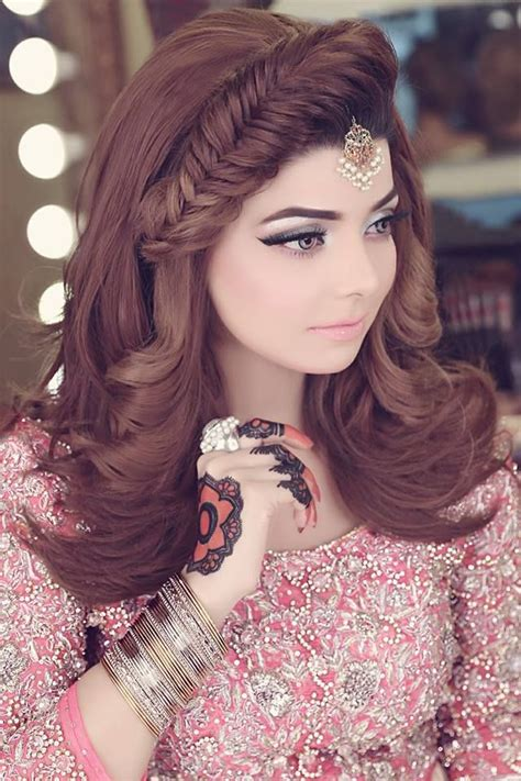kashees beautiful bridal makeup hairstyle  kashif