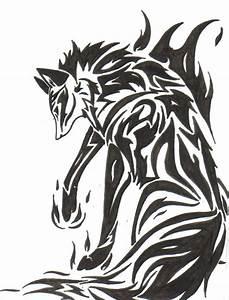 Tribal Fox Tattoo | Fire Fox Tribal Tattoo by Zaiynin on ...