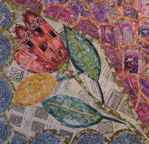 inspired  gaudi rachel markwick fine art collage