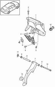 Porsche Panamera Distance Sensor Brake Pedal  Brakepedal