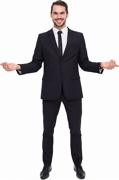 Suit Person Guy Singing Pluspng Transparent Standing