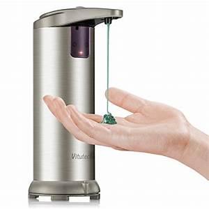 Seifenspender Wand Sensor : automatischer seifenspender vitutech seifenspender infrarot smart sensor automatische ~ Watch28wear.com Haus und Dekorationen