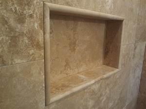 Shower Shelf Shampoo Niche Recessed Showering Shelves ...