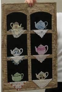 Tea Cup Hankie Quilt Pattern