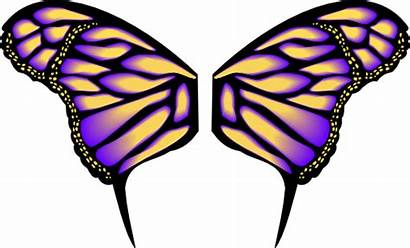 Butterfly Wings Clipart Wing Vector Vetor Borboleta