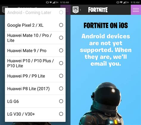 how to pre register to play the fortnite closed beta on android