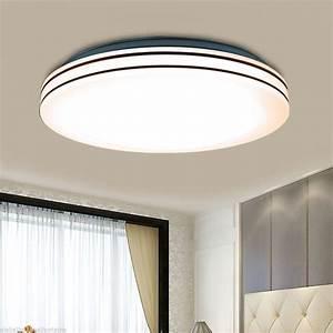 Led Wohnzimmer Deckenleuchte : neu 24w led deckenlampe deckenleuchte wohnzimmer k che ~ Lateststills.com Haus und Dekorationen