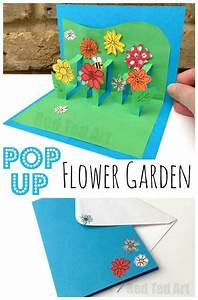 3D Flower Card DIY - Pop Up Cards for Kids | Want...Need ...