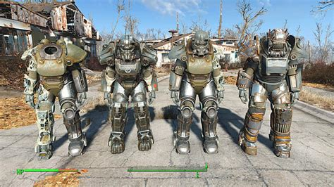 power armor location guide  fallout   pictures