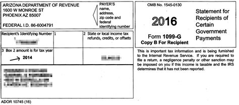 arizona sent out wrong state refund tax forms to 580 000