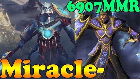 dota 2 miracle phantom lancer and silencer ranked match gameplay youtube