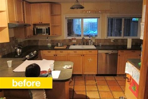 Kitchen Floor Plans And After by Kitchen Before After Heejoo S Open Floor Plan Ikea