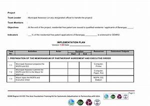 implementation plan template With implementation approach template