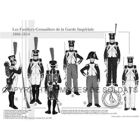 le bureau la garde les fusiliers grenadiers de la garde impériale 1806 1814