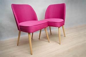 Kleine Sessel Design : kleine pinke cocktail sessel 1960er 2er set bei pamono kaufen ~ Markanthonyermac.com Haus und Dekorationen