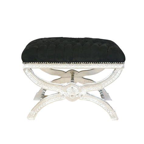 siege baroque pouf baroque noir capitonné canapé baroque chaise baroque