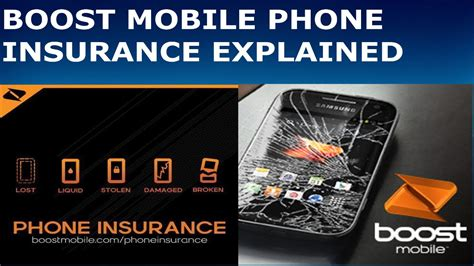 boost mobile phone insurance explained hd youtube