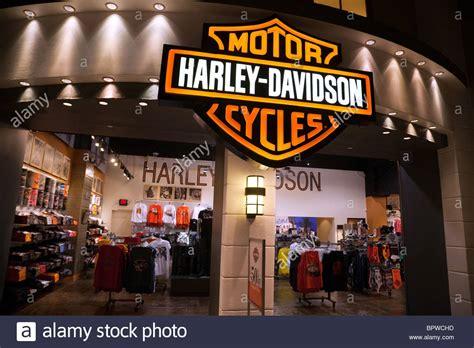 harley davidson shop the harley davidson clothes store in las vegas usa stock